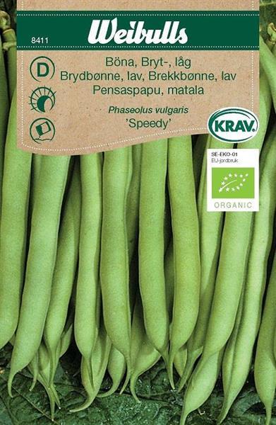 Böna Bryt- låg 'Speedy' Krav Organic