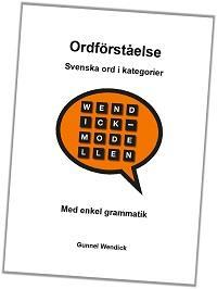 Ordförståelse - Svenska ord i kategorier