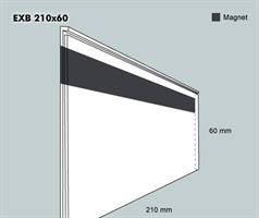 Etiketthållare EXB 210-60F