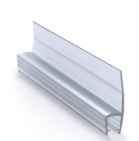 Slepelist / subbelist 20 mm - for 5 mm glass