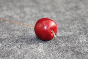 Äpple rött 3 cm 36/fp