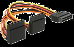 Adapter SATA- x2 Sata Ström