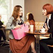 Hinza väska rosa stor