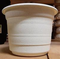 Självbevattning kruka 44cm cream/vit