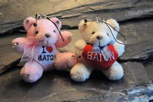 Osamu - Teddy Bear, Pink