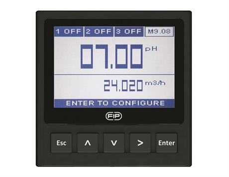 Dual-Parameter pH/ORP and Flow Monitor and Transmitter
