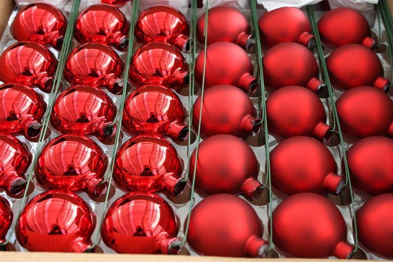 Kulor 50mm med tråd röd 36/fp
