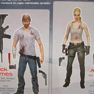 The Walking Dead, (Comic Version) Rick & Andrea