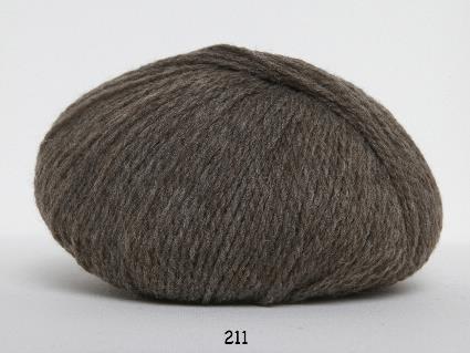 Kinna Textil Hjerte Fine mörkgrå
