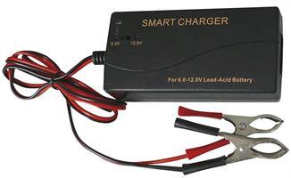 Batteri Laddare 6-12 Volt. Åtel/MC