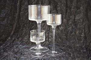 Glas Coppa olika storlekar