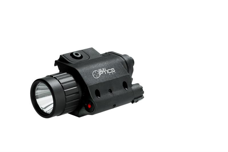 Sun Optics Lampa Vit LED 750L/Laser röd