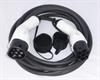 8m 22 kW mode 3 Duosida kabel i TPU kvalitet