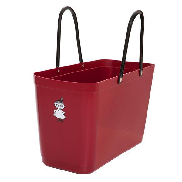 Hinza väska MUMIN vinröd stor