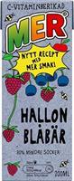 Mer 30 x 20cl Hallon&Blåbär Tetra pak
