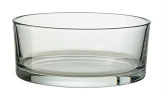 Glasskål cylinder D29cm H8cm 1/fp