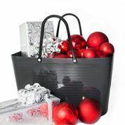 Hinza väska grå stor
