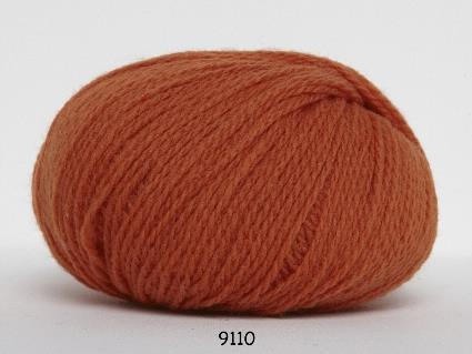 Kinna Textil Hjerte Fine orange