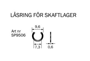 Spårryttare 9,5x0,6 mm
