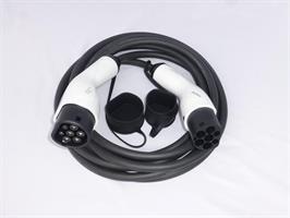 6m 16A 11 kW 3 fase mode 3  T2 til T2 Ladekabel
