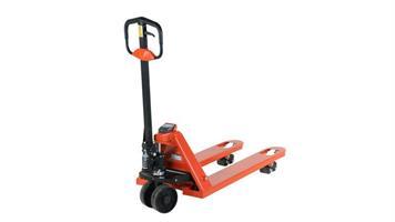 Pallyftare med våg HP-ESE-D 1150x540 B/P Orange