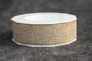 Band 25 mm 20 m/r spets guldmetallic