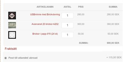 Package abroad nr 2