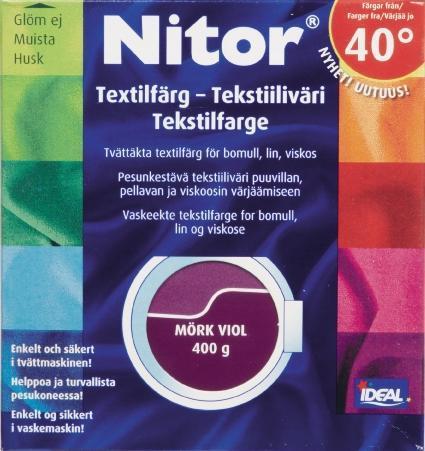 TEXTILFÄRG MÖRK VIOL 05 NITOR