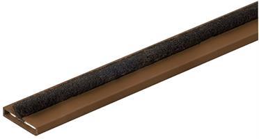Brannlist 10x5x2100 mm mørk brun (EI30)
