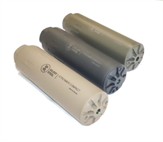 Silent Steel Compact Streamer äänenvaimennin musta