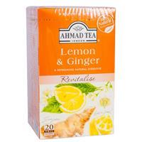 Te Ahmad Lyx Lemon&Ginger 6 x 40g