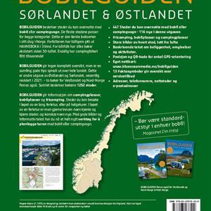 Bobilguiden, Sørlandet og Østlandet
