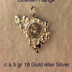BOSNIEN HÄNGE 18 GULD C:a 5gr