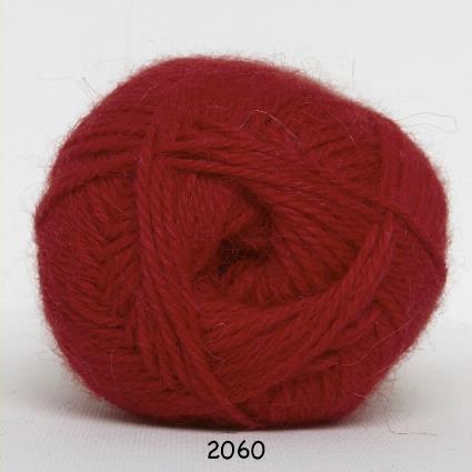 Kinna Textil Hjerte Alpacka röd