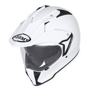 SUOMY MX TOURER - Plain White