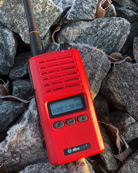 Albecom X5-155mhz kommer nu även i rött skal
