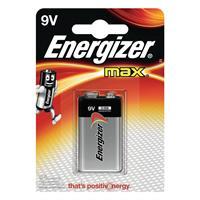 Batteri 6LR61.Alkaline/1st Energizer MAX