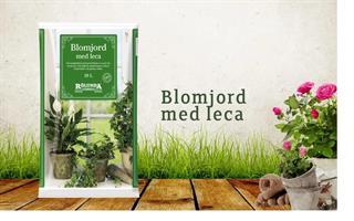 Blomjord med lecakulor för inomhus växter 18 liter