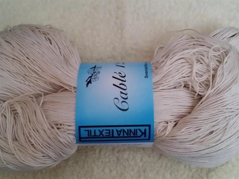 Kinna Textil Cablé 12/6 oblekt