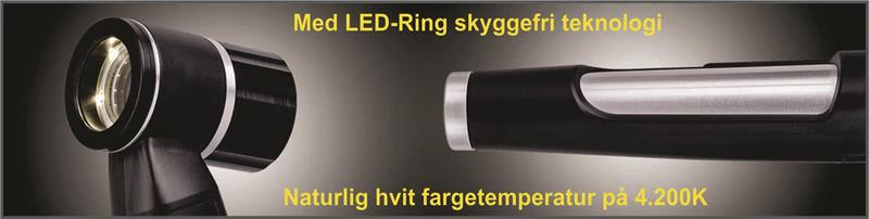 LED Dermatoskop 2,5V fra Luxamed MED skala