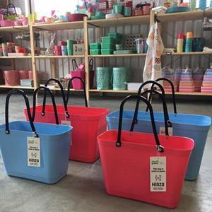 HInza väska ljusblå stor