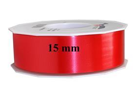 Band plast 15 mm röd 91 m