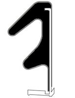 QL 3091 Sort - Løpemeter