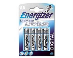 Batteri AA.Litium/4st.Energizer