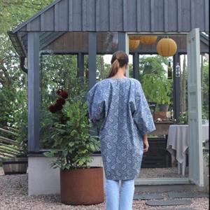 Kimono Margrethe kort
