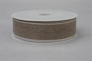 Band 25 mm 20 m/r linne med tråd