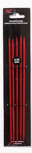 Järbo Garn strumpsticka 20 cm/4,0 mm röd