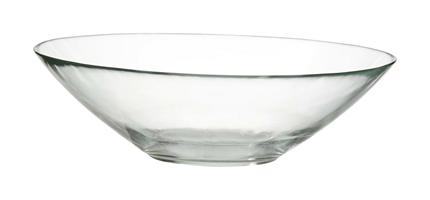 Glasskål klar D20cm 20/fp