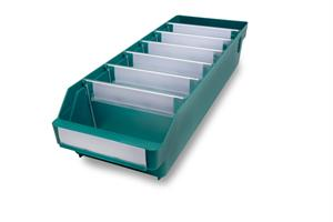 Lagerlåda Stemo 5018-11 500x180x110 mm grön