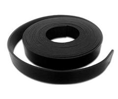 Gummistrips 100x20 mm sort u.lim SBR/NR- Løpemeter